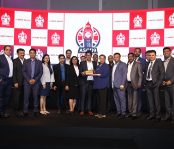 Recognizing the branch for outstanding performance in FY 2018-19 at ASC 2019- London